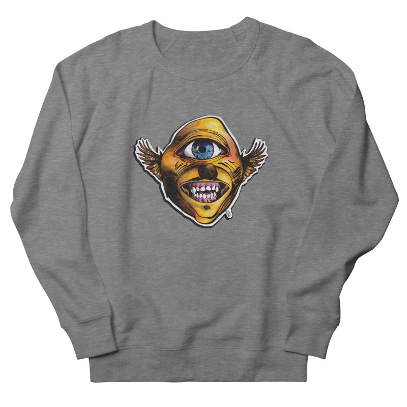 Cycloptic Dog Eagle with a Stache Men's French Terry Sweatshirt by Red Rust Rum - Shop