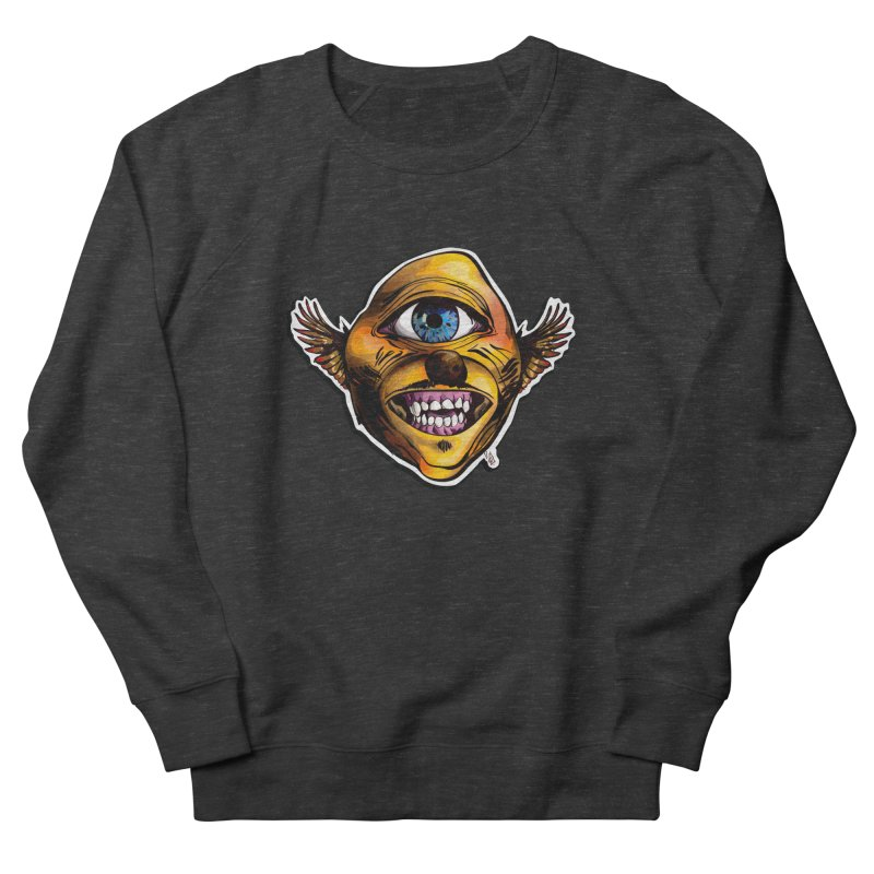 Cycloptic Dog Eagle with a Stache Men's Sweatshirt by Red Rust Rum - Shop