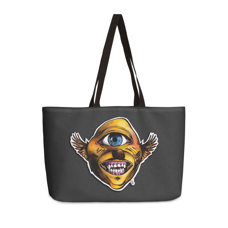 Cycloptic Dog Eagle with a Stache Accessories Weekender Bag Bag by Red Rust Rum - Shop