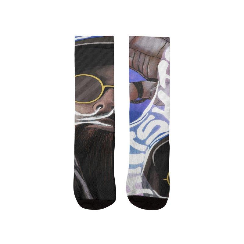 Chatshitadelic Cover Art Men's Socks by Red Rust Rum - Shop