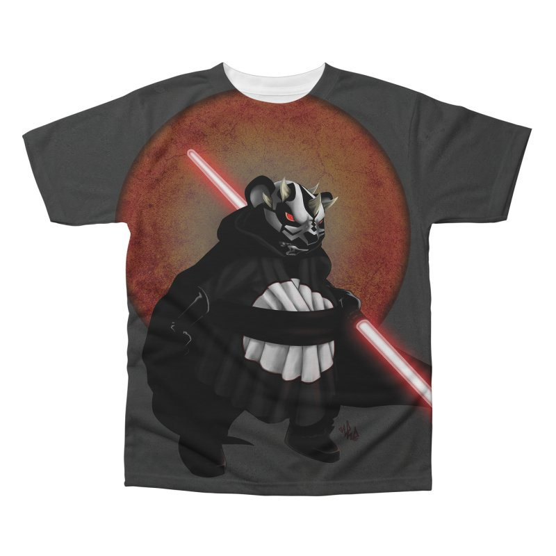 The Panda Menace Men's Regular All Over Print by Red Rust Rum - Shop