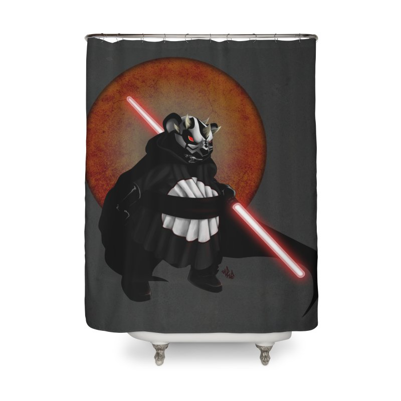 The Panda Menace Home Shower Curtain by Red Rust Rum - Shop