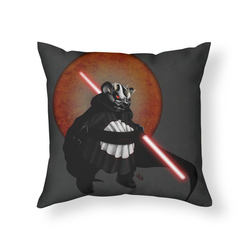 The Panda Menace Home Throw Pillow by Red Rust Rum - Shop