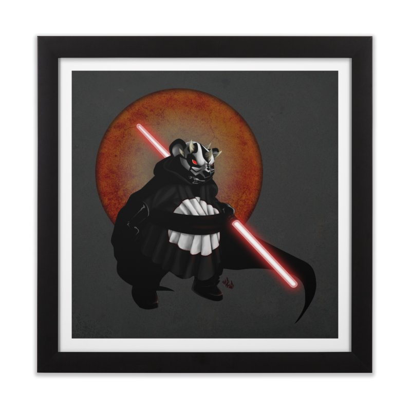 The Panda Menace Home Framed Fine Art Print by Red Rust Rum - Shop