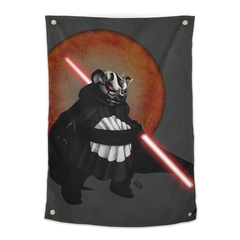 The Panda Menace Home Tapestry by Red Rust Rum - Shop