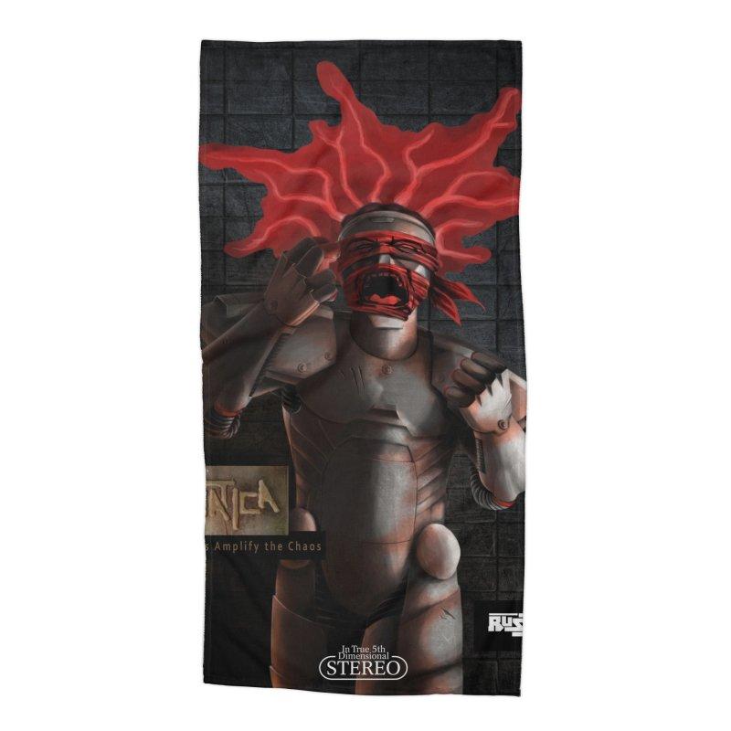 ATeNATiCa Album Art Accessories Beach Towel by Red Rust Rum - Shop