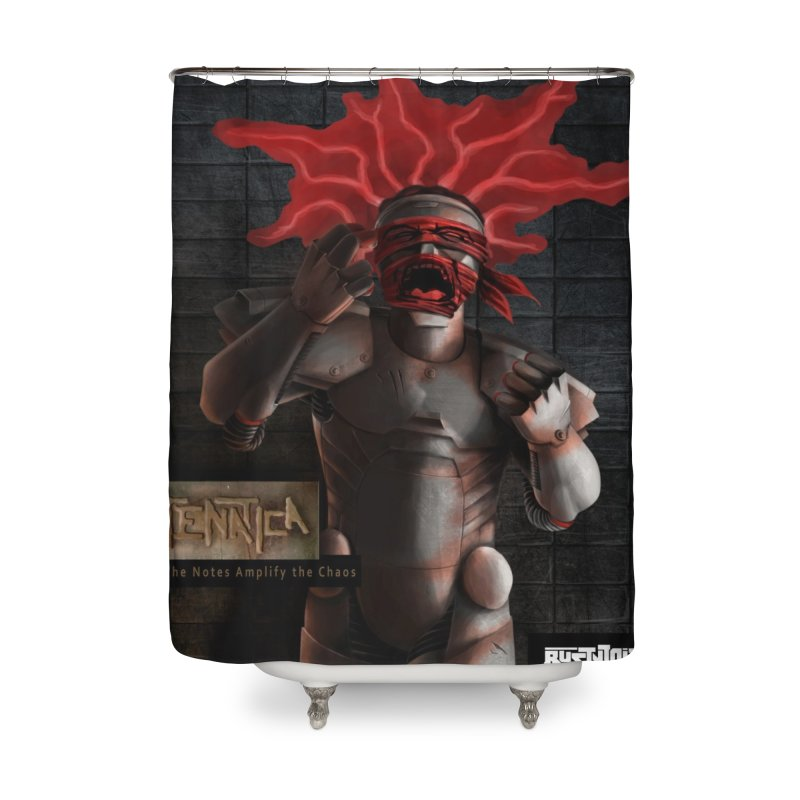 ATeNATiCa Album Art Home Shower Curtain by Red Rust Rum - Shop