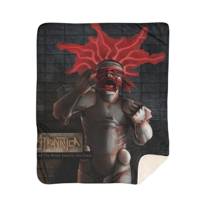ATeNATiCa Album Art Home Sherpa Blanket Blanket by Red Rust Rum - Shop
