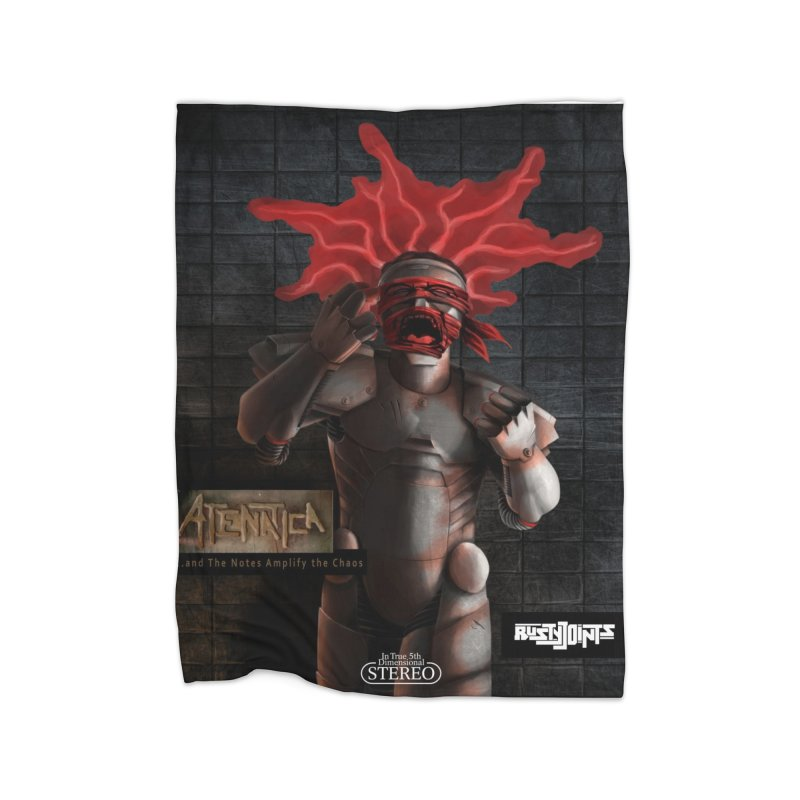 ATeNATiCa Album Art Home Blanket by Red Rust Rum - Shop