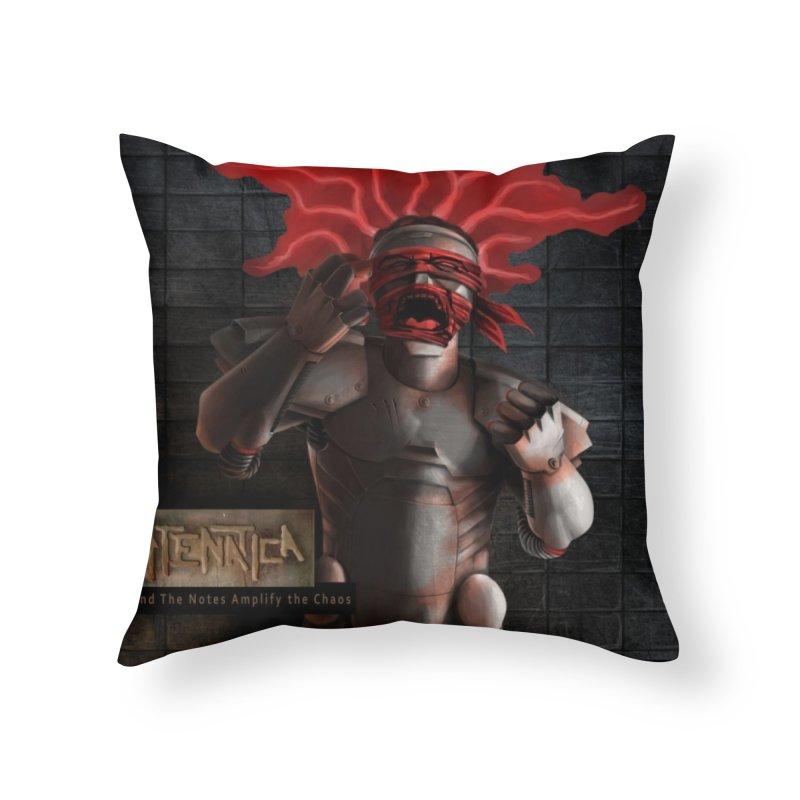 ATeNATiCa Album Art Home Throw Pillow by Red Rust Rum - Shop