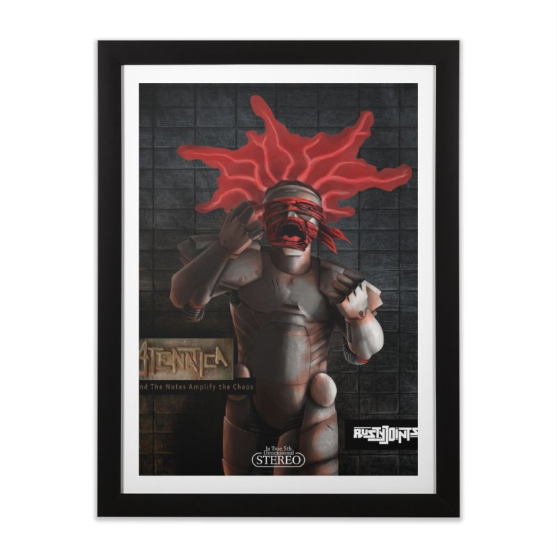 ATeNATiCa Album Art Home Framed Fine Art Print by Red Rust Rum - Shop