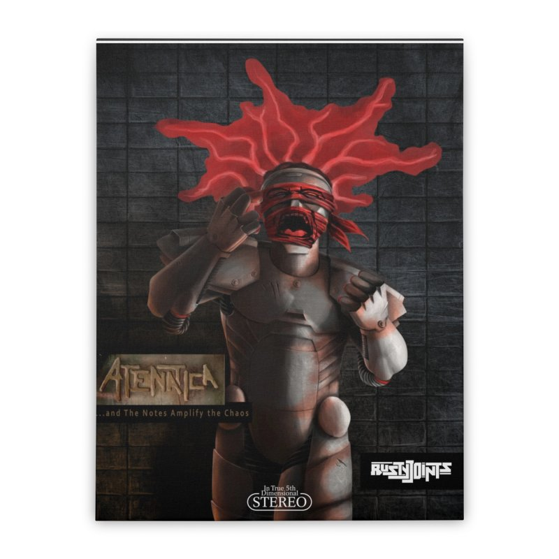 ATeNATiCa Album Art Home Stretched Canvas by Red Rust Rum - Shop