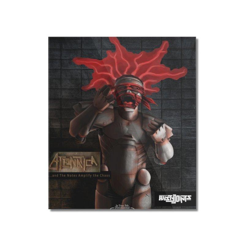 ATeNATiCa Album Art Home Mounted Acrylic Print by Red Rust Rum - Shop