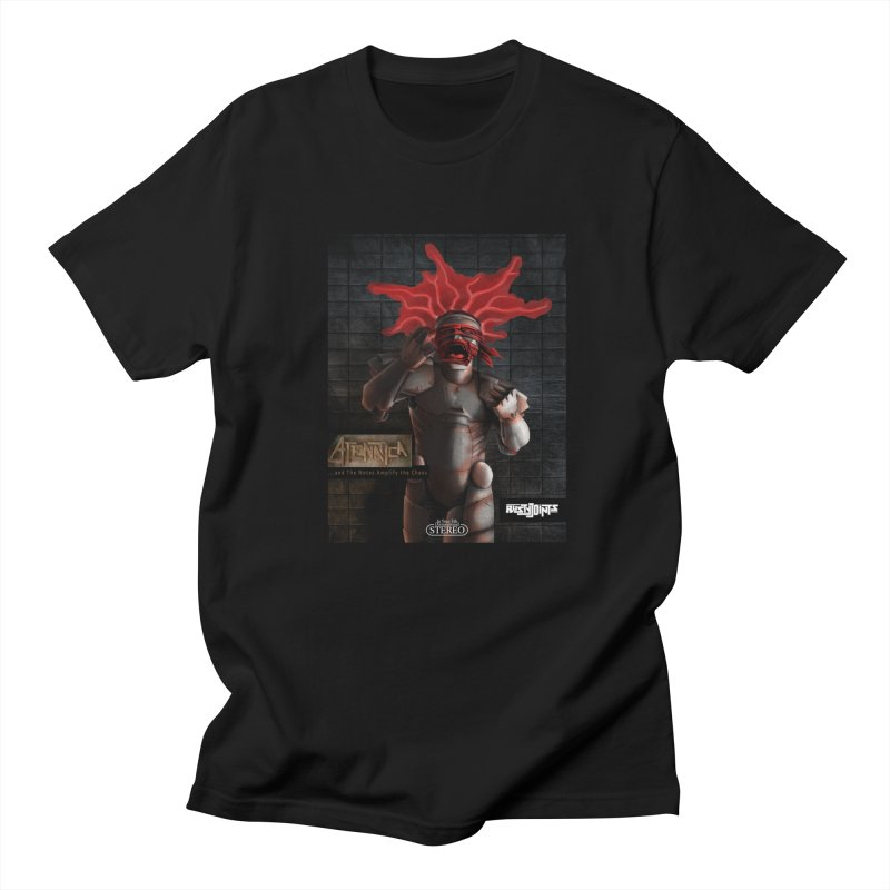 ATeNATiCa Album Art in Men's Regular T-Shirt Black by Red Rust Rum - Shop