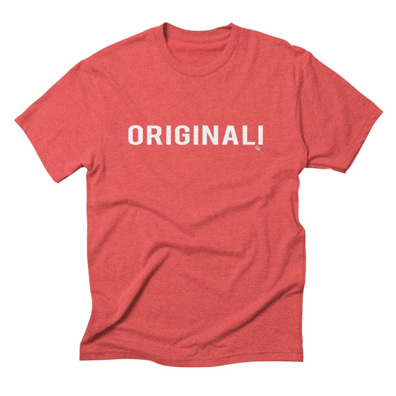 ORIGINALI Tee Men's Triblend T-Shirt by Red Rust Rum - Shop