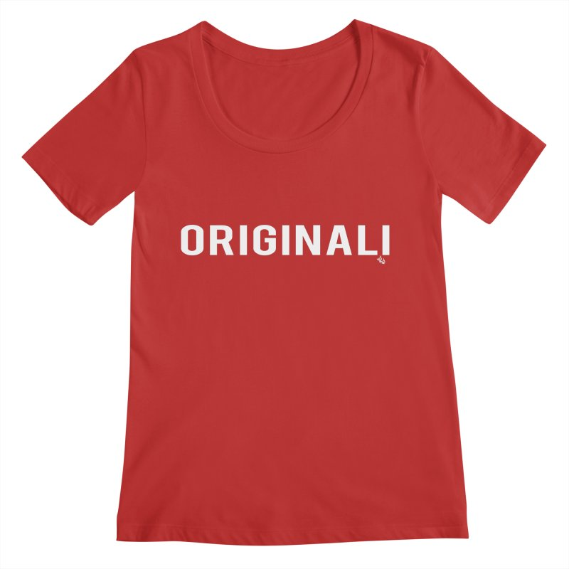 ORIGINALI Tee Women's Regular Scoop Neck by Red Rust Rum - Shop