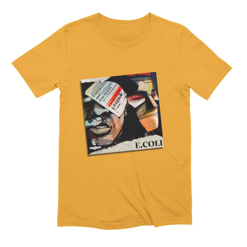 Tasteless and Faceless (Cover Art) Men's Extra Soft T-Shirt by Red Rust Rum - Shop