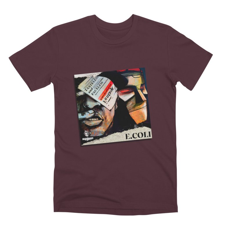 Tasteless and Faceless (Cover Art) Men's Premium T-Shirt by Red Rust Rum - Shop