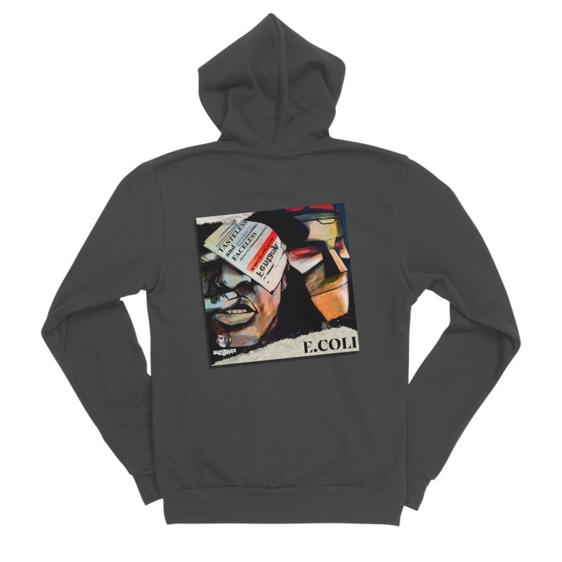 Tasteless and Faceless (Cover Art) Men's Sponge Fleece Zip-Up Hoody by Red Rust Rum - Shop