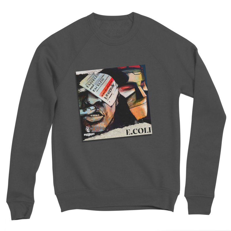 Tasteless and Faceless (Cover Art) Men's Sponge Fleece Sweatshirt by Red Rust Rum - Shop