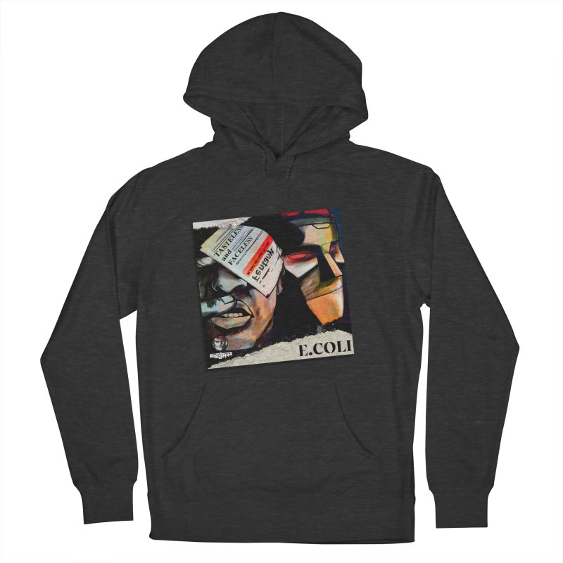 Tasteless and Faceless (Cover Art) Men's French Terry Pullover Hoody by Red Rust Rum - Shop