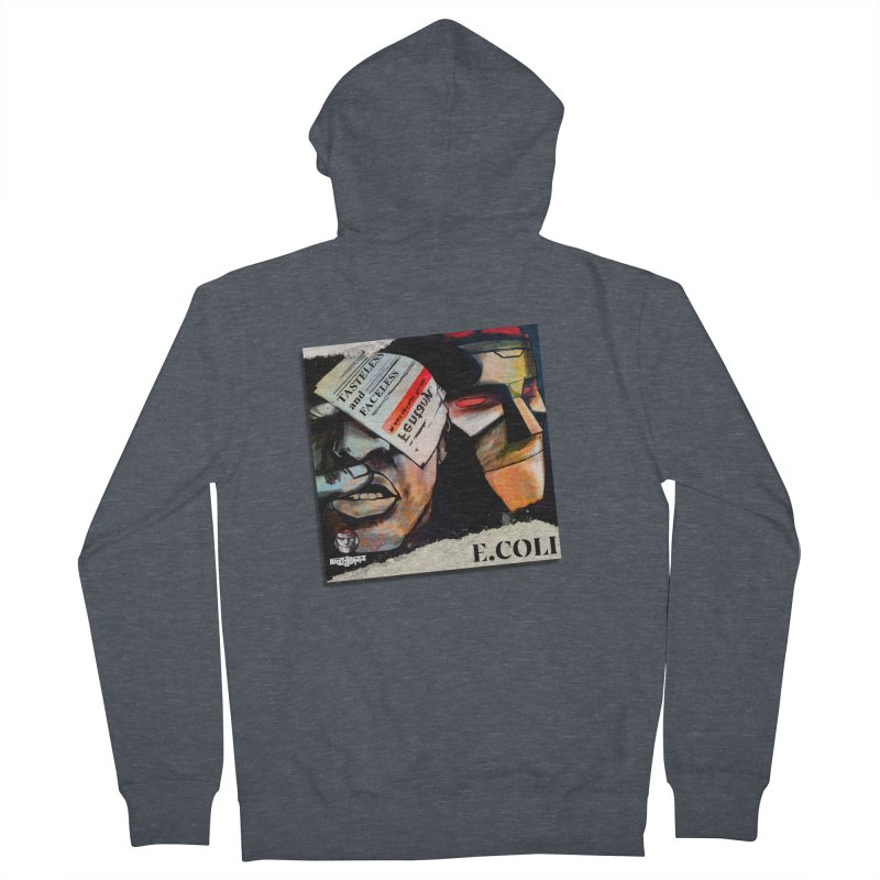 Tasteless and Faceless (Cover Art) Men's French Terry Zip-Up Hoody by Red Rust Rum - Shop