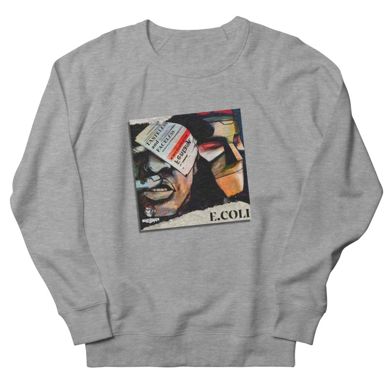 Tasteless and Faceless (Cover Art) Men's French Terry Sweatshirt by Red Rust Rum - Shop