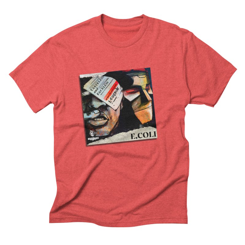 Tasteless and Faceless (Cover Art) Men's Triblend T-Shirt by Red Rust Rum - Shop