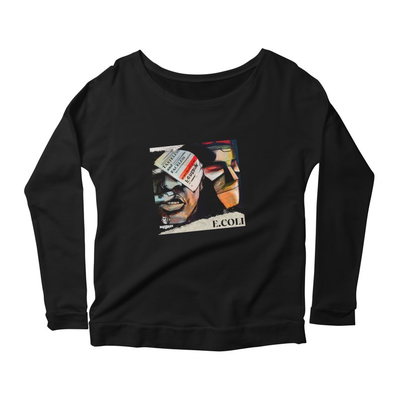 Tasteless and Faceless (Cover Art) Women's Scoop Neck Longsleeve T-Shirt by Red Rust Rum - Shop