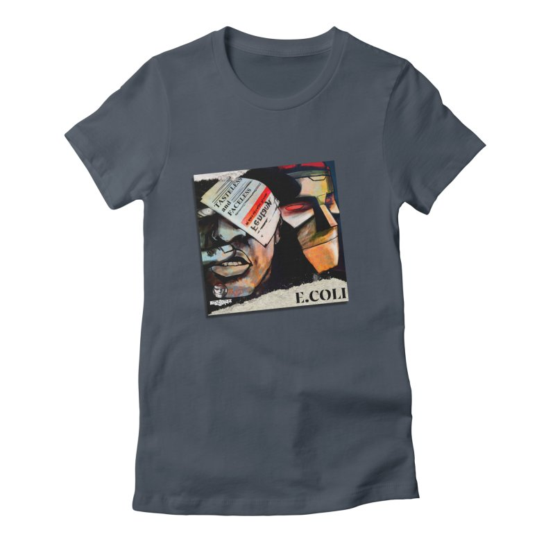 Tasteless and Faceless (Cover Art) Women's T-Shirt by Red Rust Rum - Shop