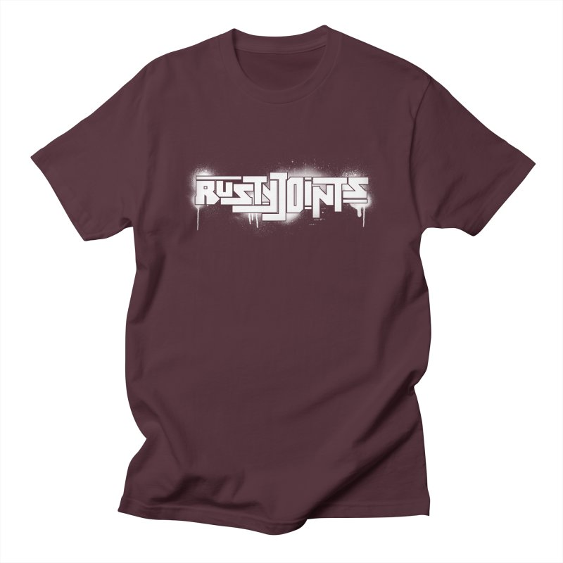 Rusty Joints Logo (Stencil Spray) Men's Regular T-Shirt by Red Rust Rum - Shop