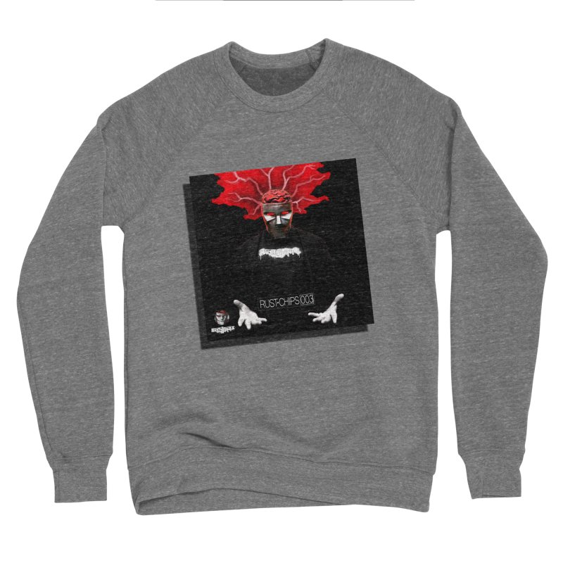 Rust Chips 003 Cover Art Men's Sponge Fleece Sweatshirt by Red Rust Rum - Shop