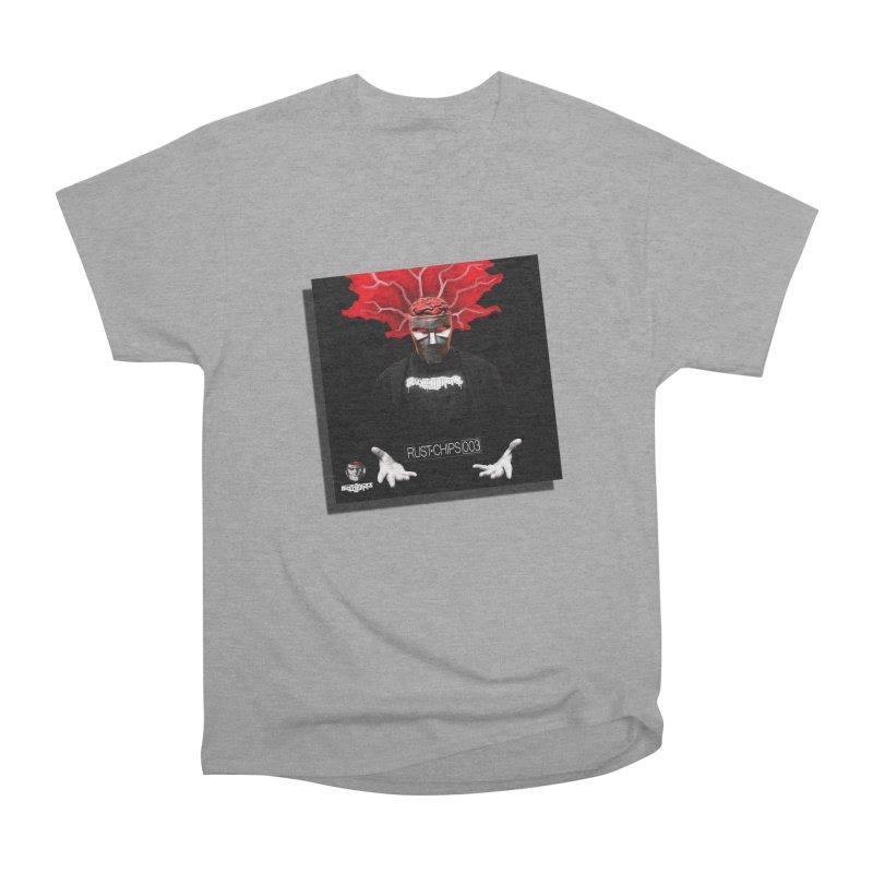 Rust Chips 003 Cover Art Men's Heavyweight T-Shirt by Red Rust Rum - Shop