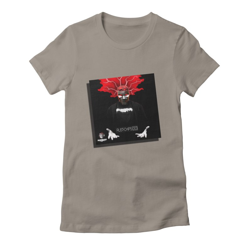 Rust Chips 003 Cover Art Women's Fitted T-Shirt by Red Rust Rum - Shop