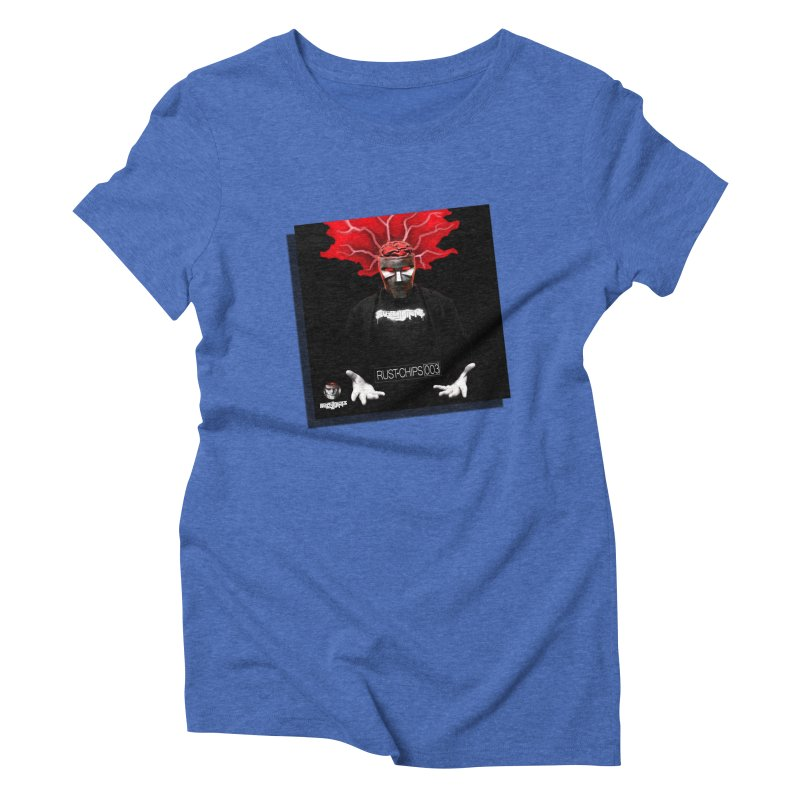 Rust Chips 003 Cover Art Women's Triblend T-Shirt by Red Rust Rum - Shop