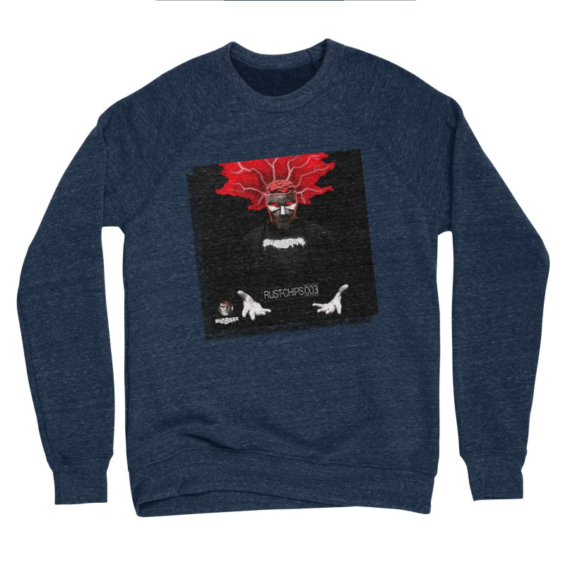Rust Chips 003 (Cover Art) Men's Sponge Fleece Sweatshirt by Red Rust Rum - Shop