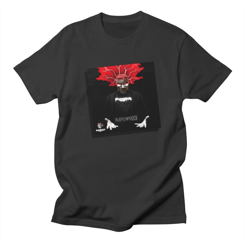 Rust Chips 003 (Cover Art) in Men's Regular T-Shirt Smoke by Red Rust Rum - Shop