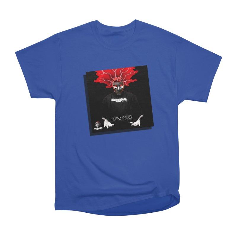Rust Chips 003 (Cover Art) Men's Heavyweight T-Shirt by Red Rust Rum - Shop