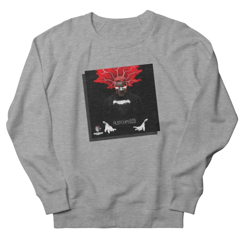 Rust Chips 003 (Cover Art) Men's French Terry Sweatshirt by Red Rust Rum - Shop