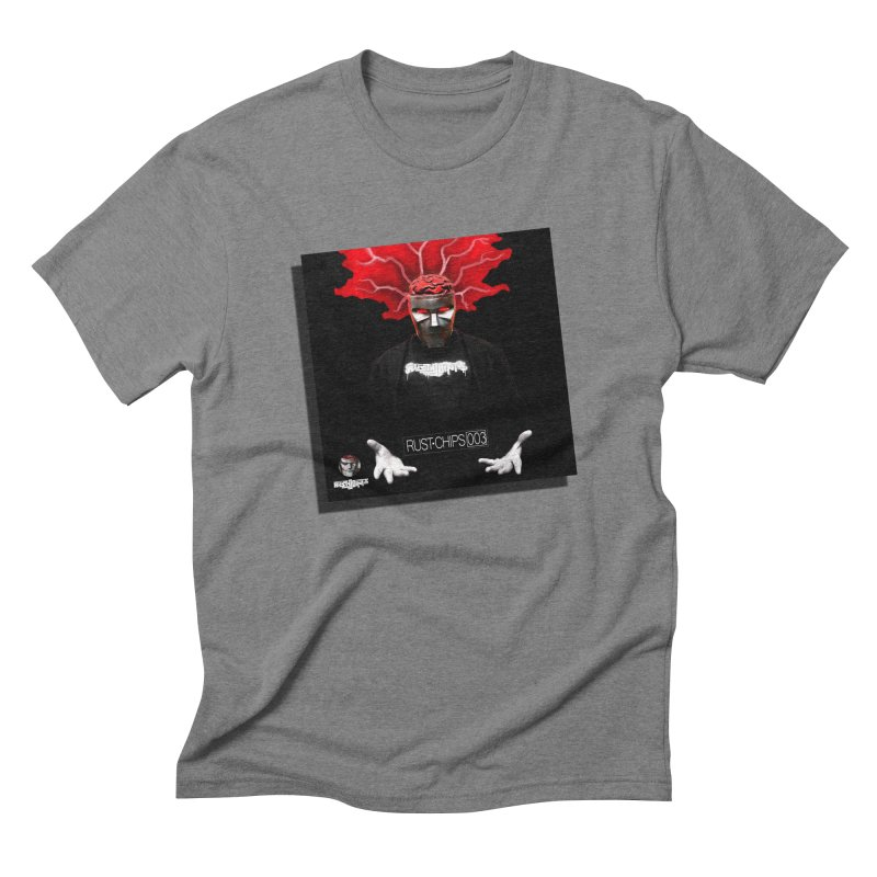 Rust Chips 003 (Cover Art) Men's Triblend T-Shirt by Red Rust Rum - Shop