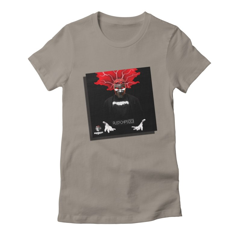 Rust Chips 003 (Cover Art) Women's Fitted T-Shirt by Red Rust Rum - Shop