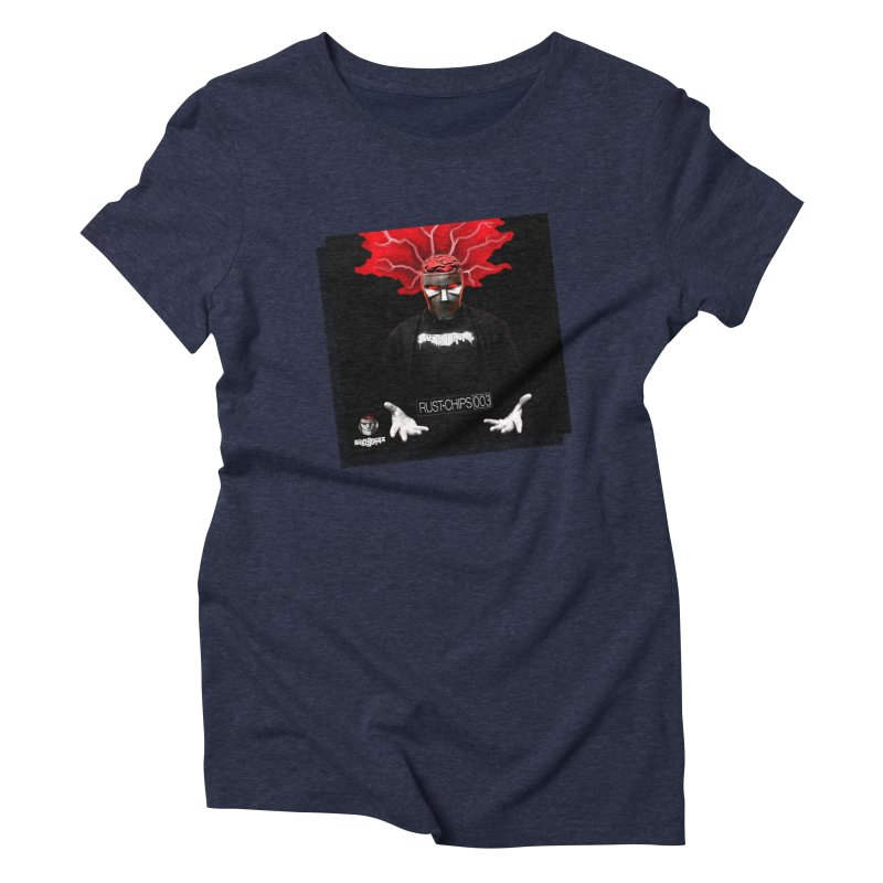 Rust Chips 003 (Cover Art) Women's Triblend T-Shirt by Red Rust Rum - Shop