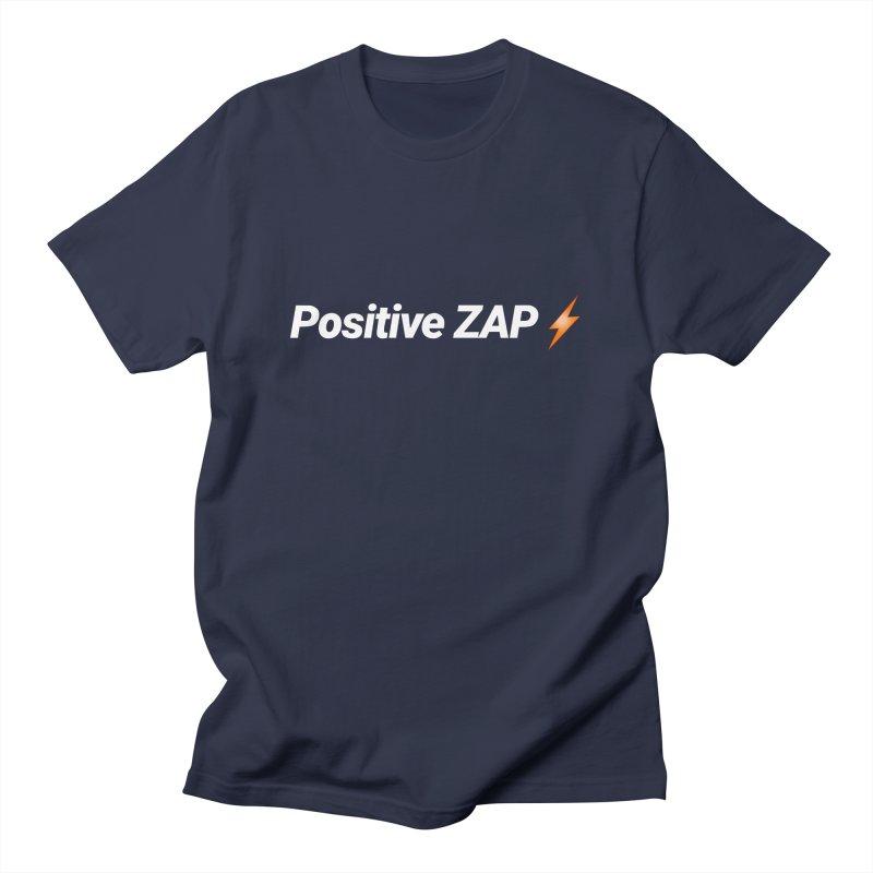 Positive ZAP!!! Men's T-Shirt by Red Rust Rum - Shop