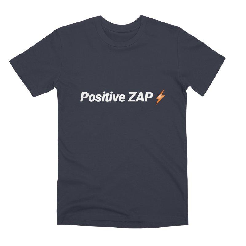 Positive ZAP!!! Men's Premium T-Shirt by Red Rust Rum - Shop