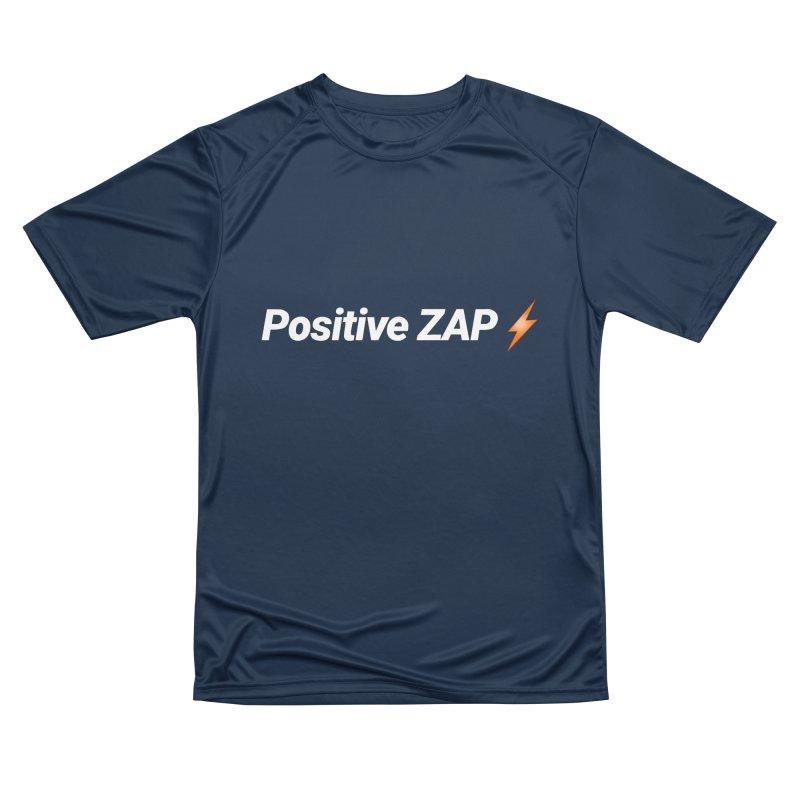 Positive ZAP!!! Men's Performance T-Shirt by Red Rust Rum - Shop