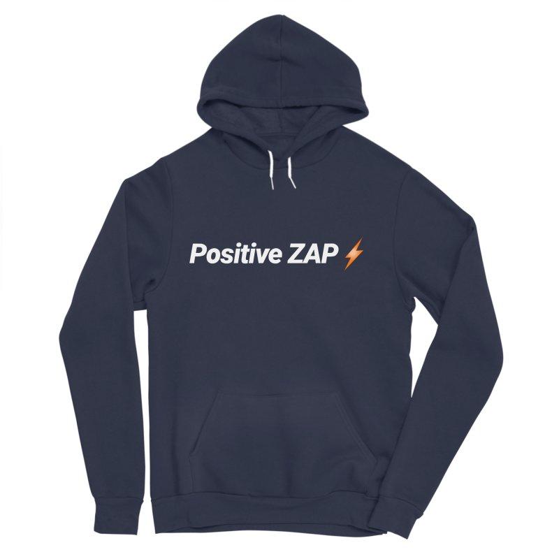Positive ZAP!!! Men's Sponge Fleece Pullover Hoody by Red Rust Rum - Shop
