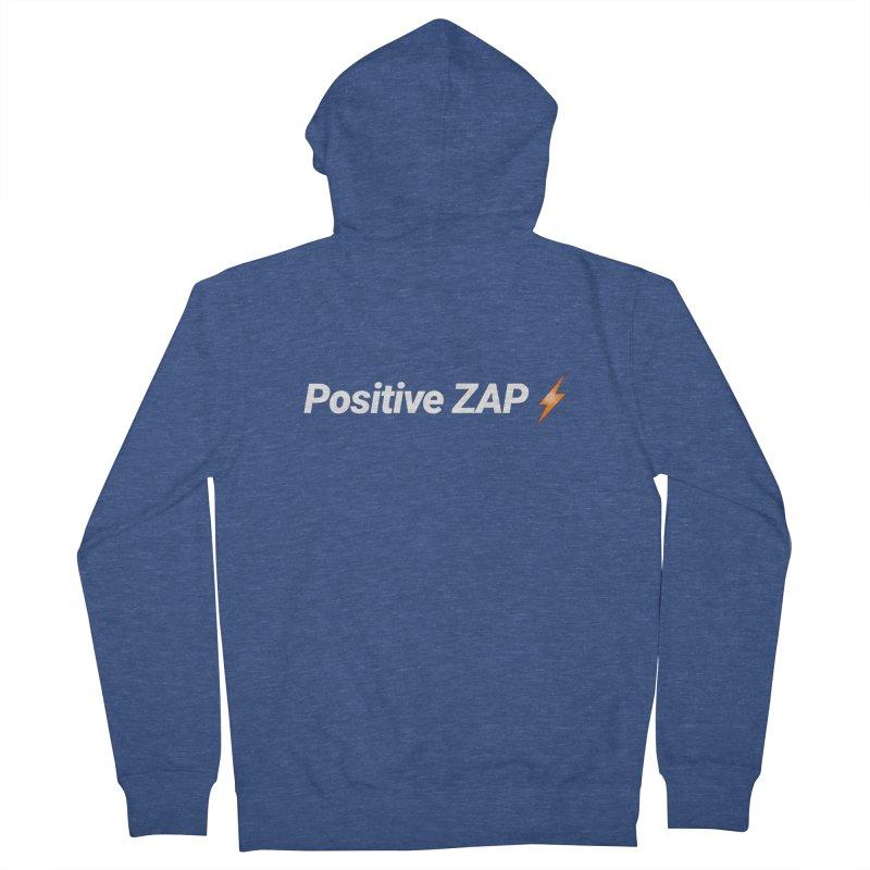 Positive ZAP!!! Men's Zip-Up Hoody by Red Rust Rum - Shop