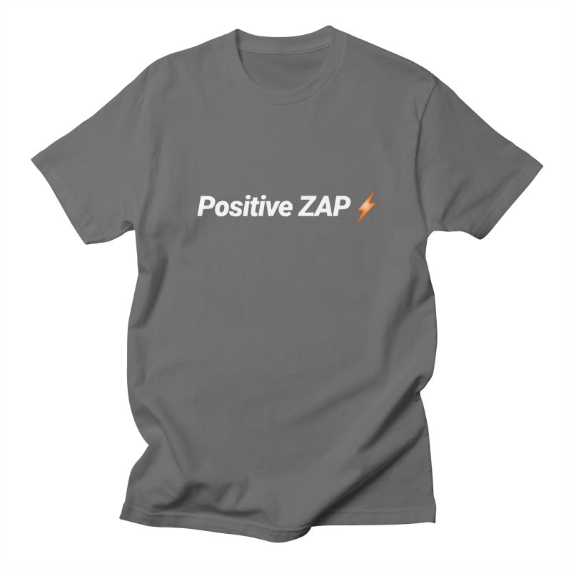 Positive ZAP!!! Men's T-Shirt by Red Rust Rum - Shop