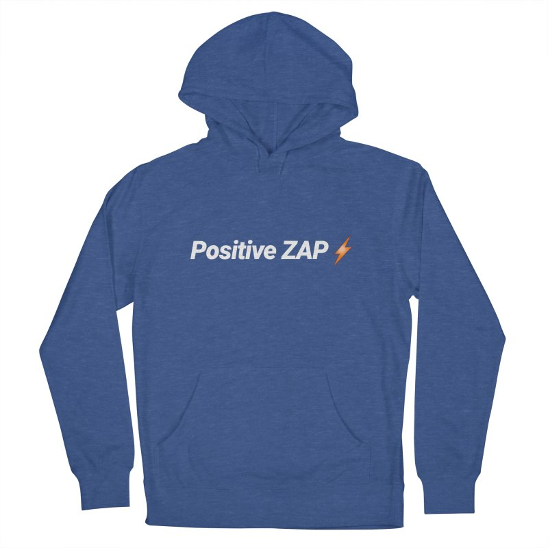 Positive ZAP!!! Men's French Terry Pullover Hoody by Red Rust Rum - Shop