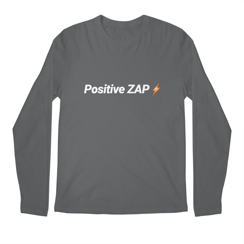 Positive ZAP!!! Men's Longsleeve T-Shirt by Red Rust Rum - Shop